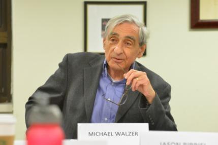 Colloquium with Michael Walzer