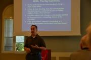 Professor Marc O. DeGirolami addresses the class