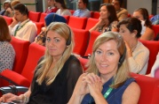 Audience members at the conference